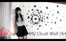 Diy Art Diy Clock Wall Art 3d Youtube