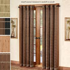 Home Decor: Patio Door Curtain Panels | Touch Of Class Throughout Curtain  For Sliding Glass