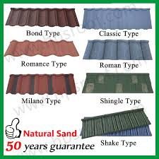 types of roofing sheet china classic type colored aluminium roofing sheet modern metal roof