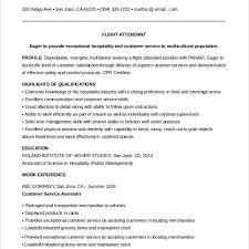 Flight Attendant Cover Letter No Experience Fresh Bilingual Flight
