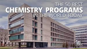 Mit Design School Usa The 50 Best Chemistry Programs In The World Today