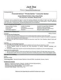 Sample Resume Of Financial Analyst Financial Resume Example Sample