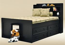 full size captains bed with storage. Exellent Size Jackson Black Full Size Captains Bed To With Storage V