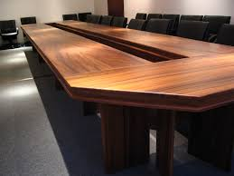 office conference table design. Traditional Brown Wooden Meeting Table Office Conference Design