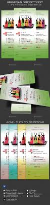 best ideas about ticket template my pics reggae jazz event ticket template