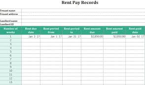 Rental Ledger Template Amazing Rent Ledger Excel Spreadsheet Template