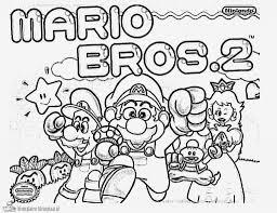 Super Mario Bros Malvorlagen Decoloringpagesasia