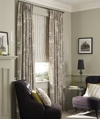 roman blinds and curtains. Delighful Curtains Classic_stripe_dove_grey_english_rose_dove_grey Throughout Roman Blinds And Curtains U