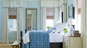 blue bedrooms. This 1915 Cottage On The Charleston Harbor Got A Colorful Makeover, Complete With Relaxing Blue Bedrooms