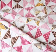 A Pink Classic Quilt Tutorial | Cluck Cluck Sew & After staring at fabrics for too long trying to decide what pattern to make  my baby a quilt with…I went with classic hourglass blocks. Adamdwight.com