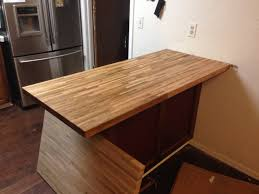 install butcher block countertop island remove old countertop you