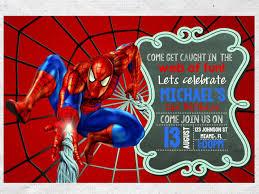 Spiderman Birthday Invitation Templates Free Spiderman Birthday Invitations Templates Free In 2019