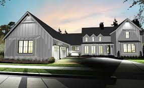 Small Picture Plan 62544DJ Modern 4 Bedroom Farmhouse Plan Farmhouse plans