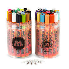 Molotow One4all Color Chart Molotow One4all 127hs Acrylic Marker Complete Kit Set Of 40