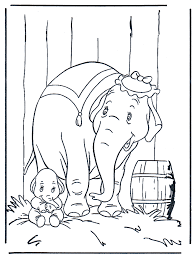 Pictures Of Dumbo Coloring Home