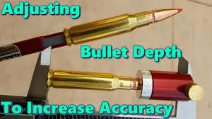 Using The Hornady Comparator And Oal Gauge To Adjust Bullet Depth