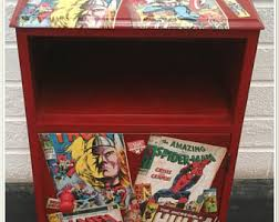 comic book furniture. Bedside Unit With Comic Book Design Furniture
