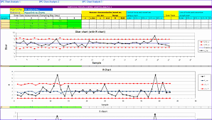 Free Spc Control Chart Template Free Spc Charts Excel Download