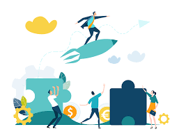 Cryptocurrency technology isometric poster with man sitting on bitcoins rocket launch blockchain and mining symbols vector illustration. Become An Azteco Vendor Earn Commission Selling Bitcoin Vouchers