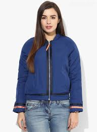 best quality womens winter jackets 2017 new united colors of benetton blue solid uub pc