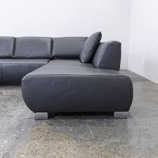 Couch Hocker Anthrazit