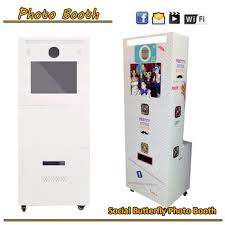 Vending Machine Rental Prices Inspiration Cheap Price Touch Screen Photo Booth Printing Vending Machine With