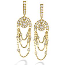hearts on fire inspiration chandelier earrings