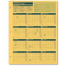 Absentee Calendar Employee Attendance Calendar For The 2018 2019 Fiscal Year