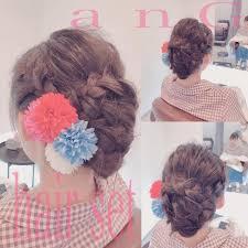 浴衣の髪型 Hash Tags Deskgram