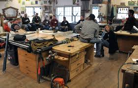 Furniture Makers Meeting hosted by Dan Mosheim and Dorset Custom