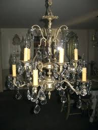 spanish brass chandelier brass crystal chandelier red and rewired spanish brass chandelier parts spanish brass chandelier