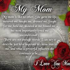 I Love You Mom Quotes Best I Love You Mom Quote
