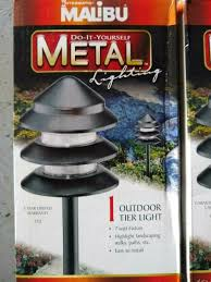 Malibu Pagoda Lights 2 Malibu 3 Tier Lt13 Pagoda Metal Outdoor Light 7 Watt Low Voltage Landscape