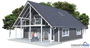 Small House Plan CH137 In Nordic Architectural Style House PlanAffordable House Plans To Build