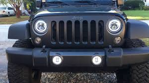 Sunpie Led Lights Sunpie Daymaker Led Halo Headlights And Fog Lights Youtube
