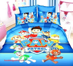 toddler bed sets minion set awesome paw patrol bedding pink for comforter asda