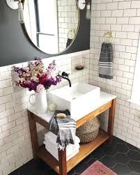 Utiliser le carrelage métro dans la salle de bain   POWDER ROOM ...