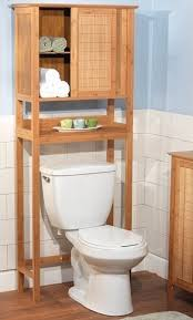 bathroom storage over toilet. Beautiful Over Natural Bamboo Space Saver Bathroom Storage  Towel Shelf Over Toilet With