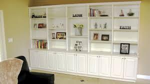 media center with bookshelves. Brilliant Bookshelves Traditional White Bookshelves With Media Center