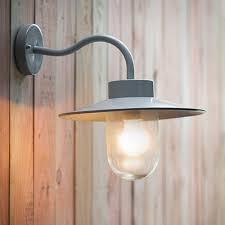 Swan Neck Outdoor Lighting Flint - Exterior lights uk