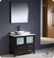 bathroom vessel sink vanity. fresca torino 36\ bathroom vessel sink vanity o