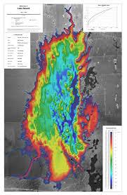 Lake Newell Bathymetric Chart