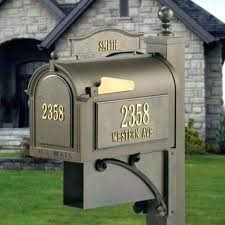 Unique Residential Mailboxes Decorative Residential Mailboxes Best