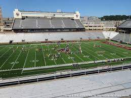 Unh Wildcat Stadium Seating Chart Alumni Stadium Boston College View From Upper Level Qq