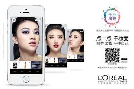 why millions in china ed l oreal s makeup genius app