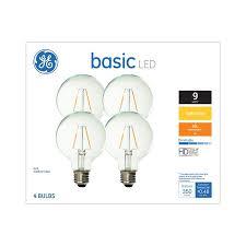 Speaker Light Bulb Lowes Ge Basic 40 Watt Eq Soft White Dimmable Globe Light Bulb 4