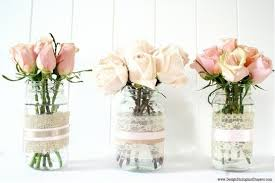 Decorating Mason Jars With Ribbon Burlap Covered Mason Jar Centerpieces Budget Brides Guide A 77