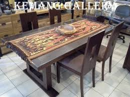 Dinning table set  6 chair 200 x 100 x 78 cm Price  789