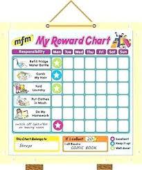 Star Rewards Chart Template Free Printable Reward Charts For School