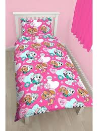 paw patrol girl bed set girls paw patrol single duvet cover set novelty characters 2 paw patrol toddler bed set girl